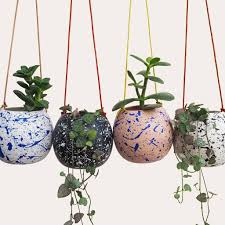 8 home spa ideas to cleverly add luxury to your bathroom space with plants, bucolic elements and vibrantly patterned wall ideas. 17 Best Hanging Plant Pots And Wall Planters For Indoor Spaces