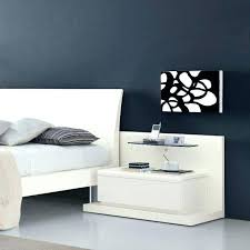 modern black side table medium size of bedroom tables for light wood bedside sauder soft round