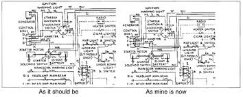 m35 ammeter wiring tigers east alpines east above are sections of the wiring diagram from the shop manual in the area of the ammeter voltage regulator