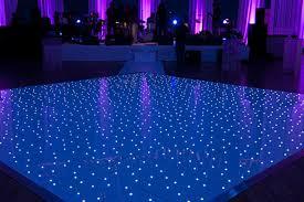 wedding starlight dance floor hire