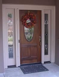 front doors with side windowsRetractable Screen Door  Photo Gallery