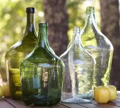 Large Decorative Glass Jars PB Found Oversized Wine Bottle Pottery Barn 21