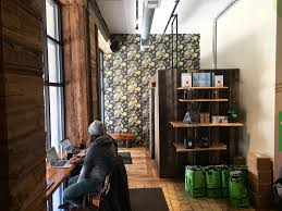 Founded in 2010, elixr went on to win accolades for their blends, baristas, cafes, and even their packaging. Nomad Office Elixr Coffee Hello Homeroom