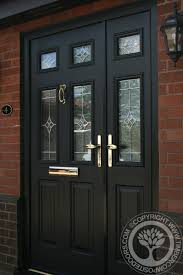 Solidor Tenby Black Timber Composite Door Our Of The Day Side ...