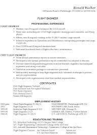sample resume flight engineer examples of functional resumes