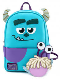 <b>Рюкзак Disney Monsters Inc</b>: Sully With Boo Coin Pouch Mini ...