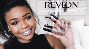 revlon colorstay makeup unboxing tutorial review cynthia gwebu you