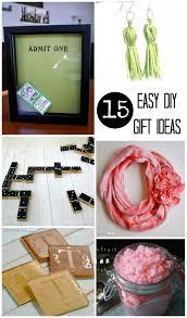 15 easy diy gift ideas