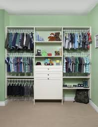 kids closet. Custom Kids Closet With White Finish E