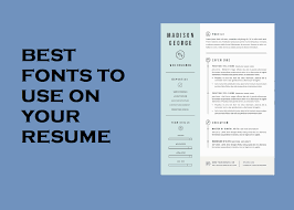 What Is The Best Resume Font Adorable Top Ten Best Fonts To Use On Your Resume QwikResume
