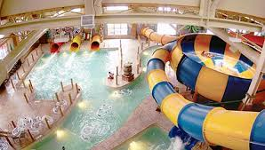 indoor pool with waterslide. Canada Vortex Water Slide Inside The Great Wolf Lodge Indoor Park Is Waiting For You Pool With Waterslide
