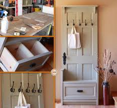 do you need an entry bench why not make one using an old door