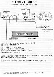 fender esquire wiring diagram images fender esquire wiring