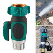 3 4 inch garden hose 1 way shut off valve water pipe faucet connector us standard thread cod