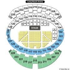 Long Beach Arena Seating Chart Long Beach Convention Seating Chart Travel Guide