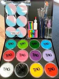 face painting supplies list ideas