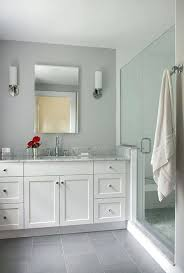 cost to paint a bathroom light gray tile floor paint color ideas with tubular wall sconces cost to paint a bathroom