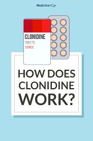 clonidine pain relief