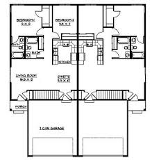 Breathtaking House Plans For Duplexes Images  Best Inspiration Floor Plans For Duplexes