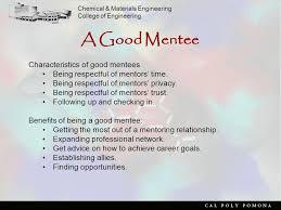 org resources effective mentoring watch presentation finding a mentor getting a mentor a good mentor a good mentee