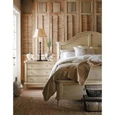 vintage looking bedroom furniture. Stanley Furniture European Cottage Portfolio Panel Bedroom Set In Vintage  White Vintage Looking Bedroom Furniture