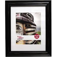 better homes and gardens distressed 11x14 picture frame black com