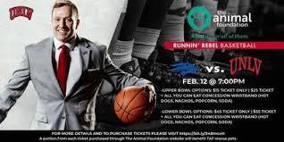 Unr Vs Unlv Runnin Rebel Basketball Game Tickets Wed Feb