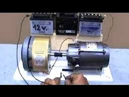 Electric generator motor Diy Electric Motor Generator Dc Dailymotion Electric Motor Generator Dc Youtube