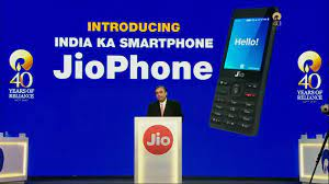 JioPhone with 4G VoLTE capabilities ...