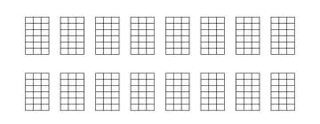 Blank Ukulele Chord Chart Printable Accomplice Music Part 400
