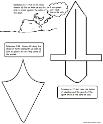 More than 10.000 printable coloring sheets. Armor Of God Coloring Pages