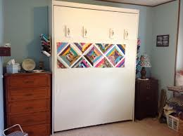 91 best Quilting room: Design Wall images on Pinterest | Workshop ... & Murphy bed/design wall! Adamdwight.com
