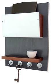 Wonderful Minimal Modern Wooden Wall Mounted Device Storage Key Rack With  Regard To Wall Mounted Key Storage Popular