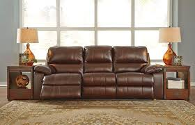 ashley furniture reclining couch. Ashley 513 Transister Power Reclining Sofa Adjustable Headrests Inside Furniture Couch