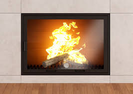 fireplace glass