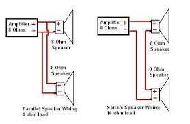 how to wire watt subwoofers to a amp monoblock amp quora if it will drive the parallel combination that is the best as it will give a greater loudness