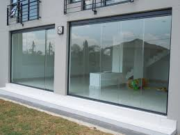 spectacular frameless folding glass doors d in stunning home decoration idea with frameless folding glass doors