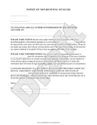 tenant renewal letter lease renewal reminder letter template gallery