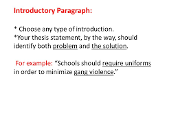 the problem solution essay introductory paragraph choose any  2 introductory