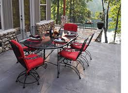 50 off meadowcraft dogwood dining set wrought iron patio furniture