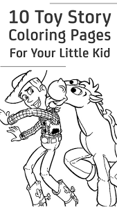 Top 10 Toy Story Coloring Pages