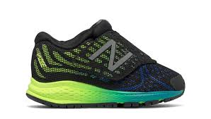 new balance yellow shoes. new balance hook and loop vazee rush v2, black with yellow \u0026 cadet blue shoes