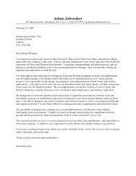 Programmer Cover Letter Yralaska Com