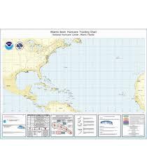 Hurricane Tracking Chart Hurricane Tracking Chart Atlantic Basin