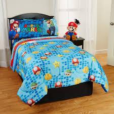 Mario Bedroom Super Mario Comforter Walmartcom