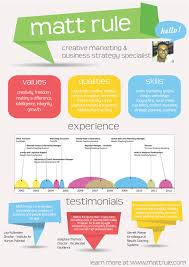 Infographic Resumes Creative Resumes Pinterest Infographic