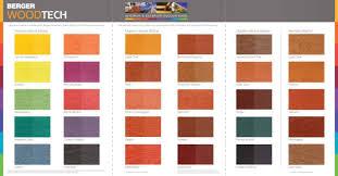 Berger Paint Chart Berger Woodtech Berger Paints Caribbeans Range Of Classic