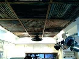 corrugated tin ceiling metal ideas best on rustic garage system corr panels