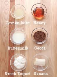 a diy edible mud mask recipe that works made from greek yogurt cocoa powder