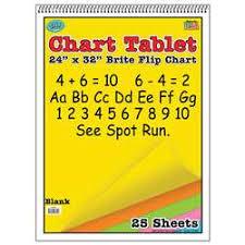 Chart Paper For Teachers Chart Paper Chart Tablets For Teachers